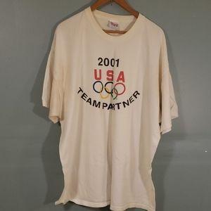 2001 usa team partner t shirt
